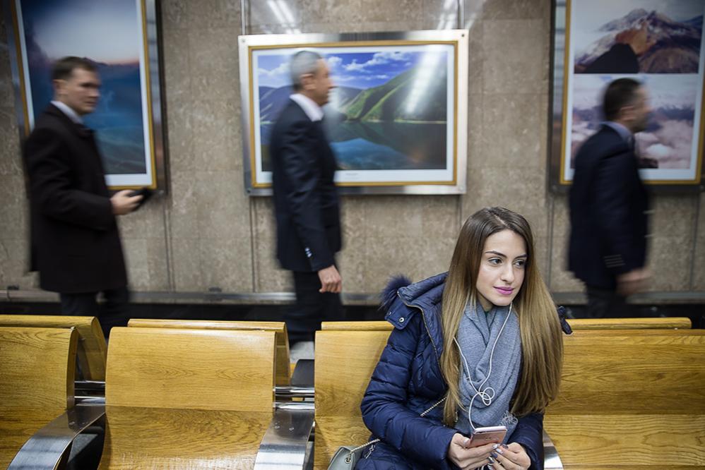 Выставка фотографий Северного Кавказа открылась в московском метро