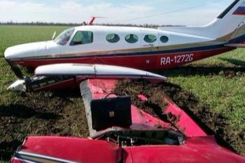 Прокуратура начала проверку в связи с жесткой посадкой легкомоторного самолета на Ставрополье