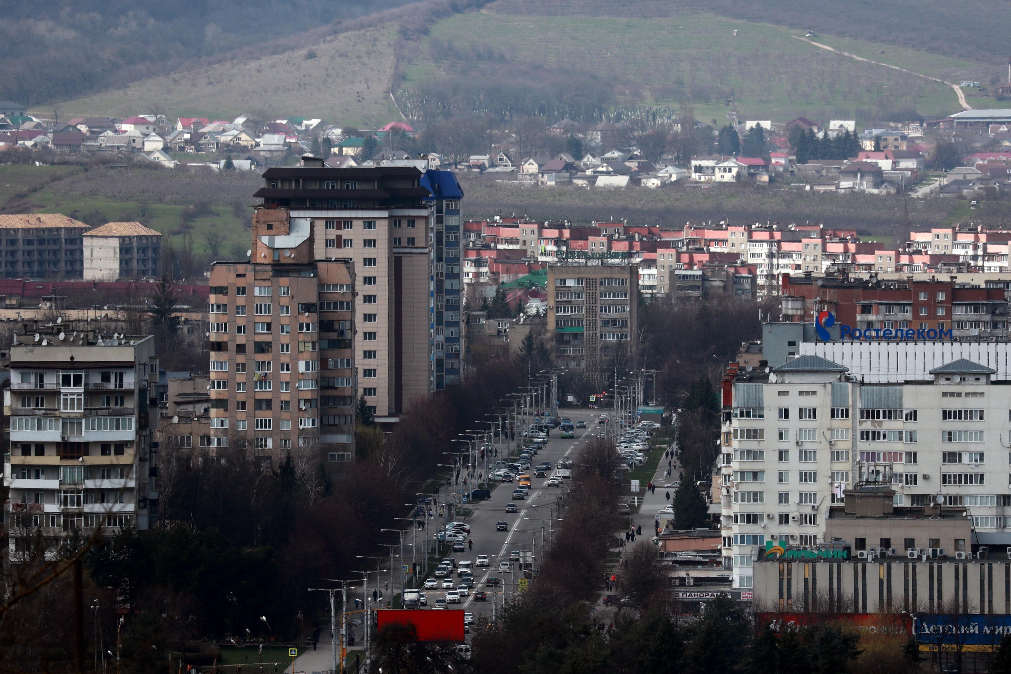 В Нальчике открыли четырехполосную объездную дорогу