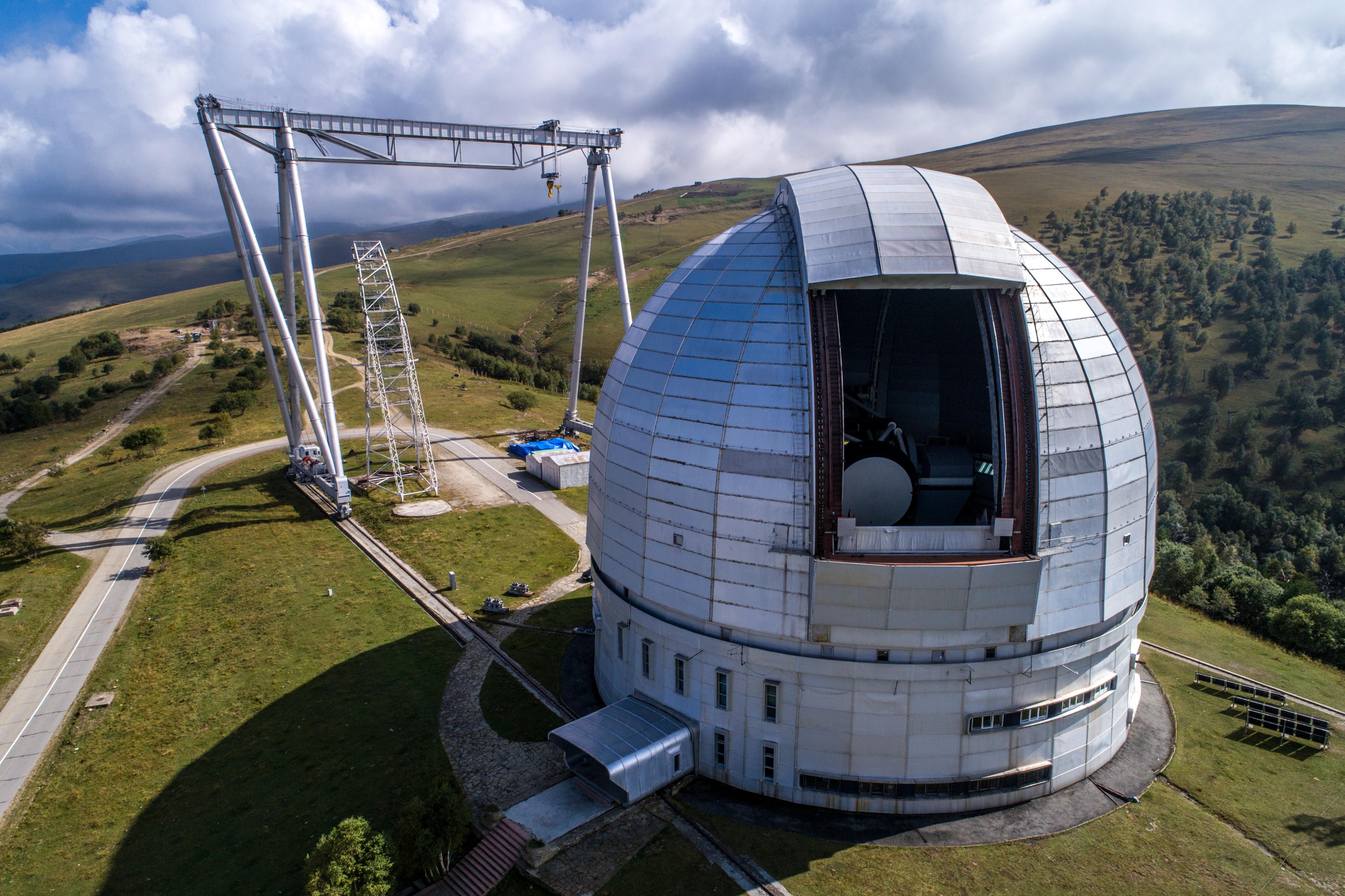 Обсерватория РАН в Карачаево-Черкесии снова станет площадкой для арт-проекта