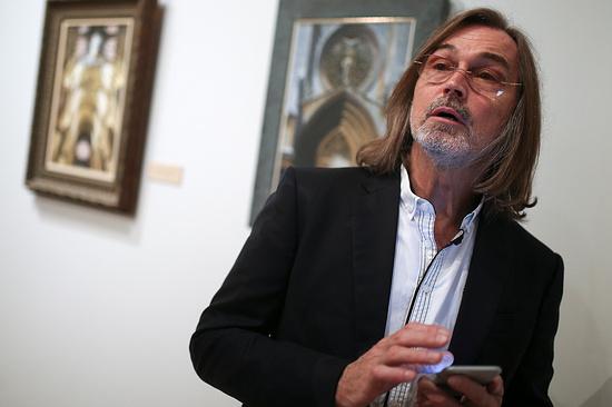 Никас Сафронов представит избранные работы вЕкатеринбурге
