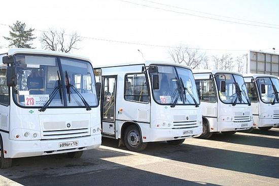 ВСтавропольском крае запустили работающие нагазовом горючем автобусы